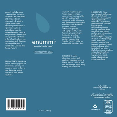 enummi-Night-Recovery-Cream-ingredients