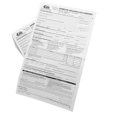 Distributor Application and Agreement Forms