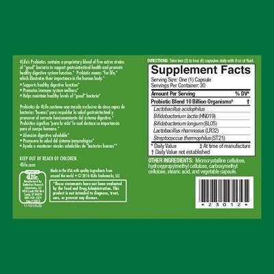Probiotics-ingredients