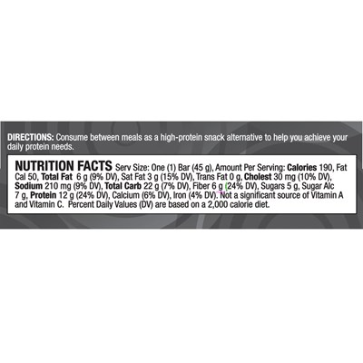 PRO-TF-Protein-Bar-ingredients