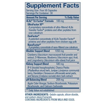 4Life-Transfer-Factor-KBU-ingredients