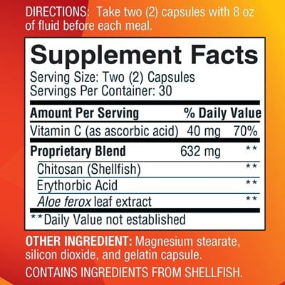 Chitolite-ingredients