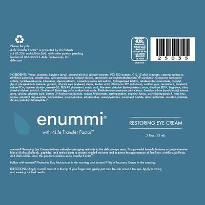 enummi-Restoring-Eye-Cream-ingredients