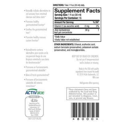 Aloe Vera Nutrition Facts