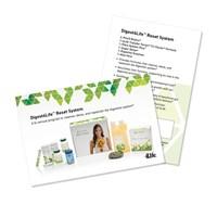 Digest4Life Reset System Marketing Card