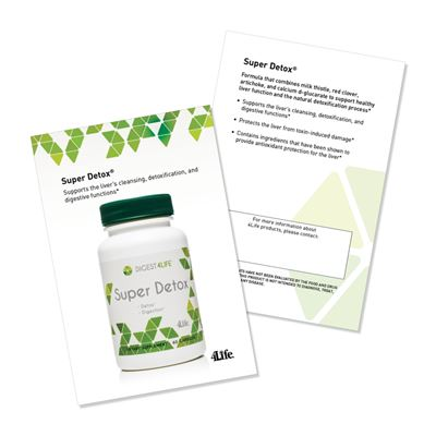 Super Detox Marketing Card