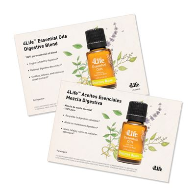 EO Digestive Blend Marketing Card