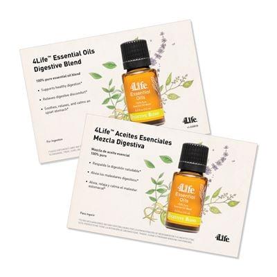 EO Digestive Blend Marketing Card