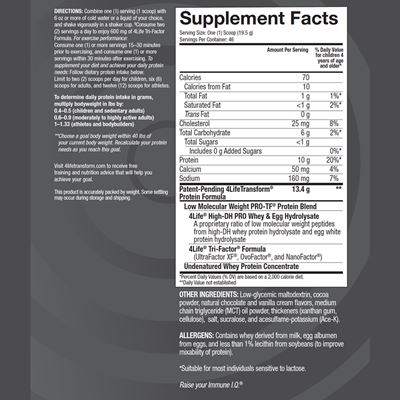 Pro-TF-Chocolate-Supplement-Facts