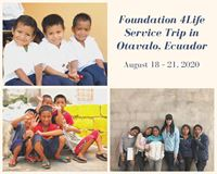 Viaje de Servicio a Ecuador 2020