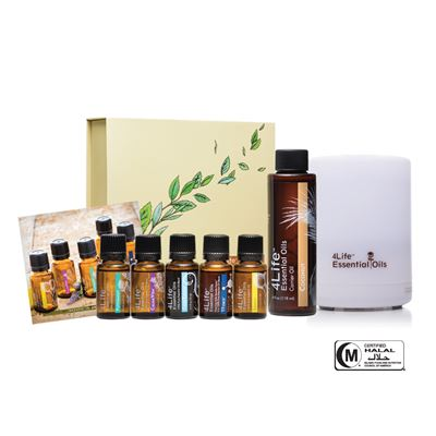Essential Oils Kit w/Diffuser new