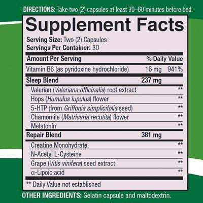 Sleeprite-supplement-facts