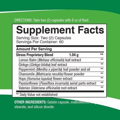 Stress Formula Facts