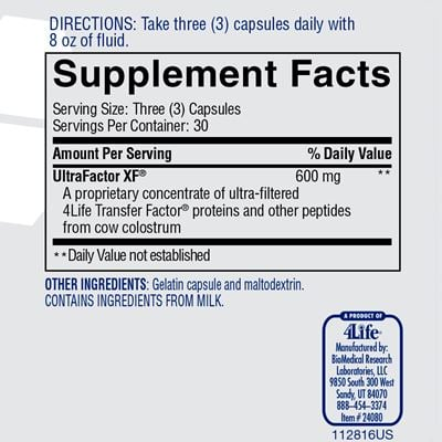 Classic Nutrition Facts