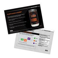 4LifeTransform Burn Marketing Card