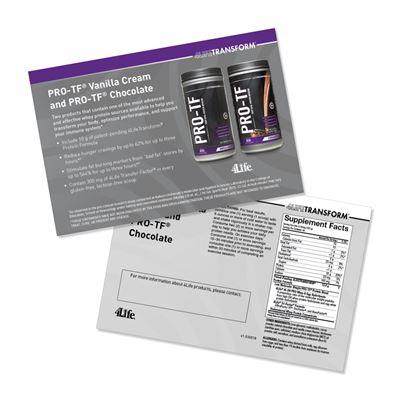Pro-TF Marketing Cards