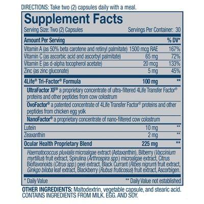 Vista-Supplement-Facts