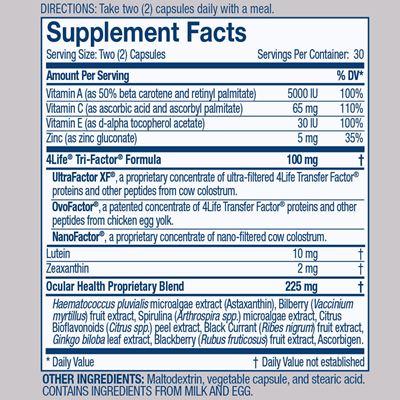Vista Nutrition Facts