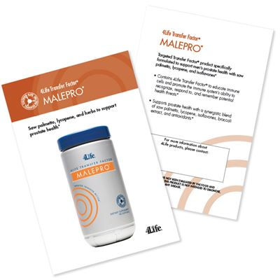 Malepro Marketing Card