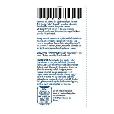 4Life-Transfer-Factor-RenewAll-ingredients