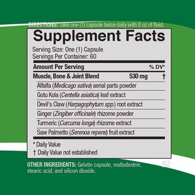 MusculoSkeletal-Formula-ingredients