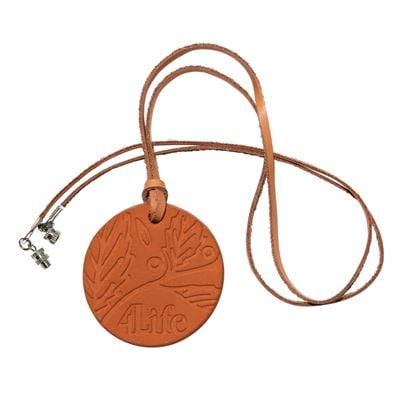 Terracota difusser necklace