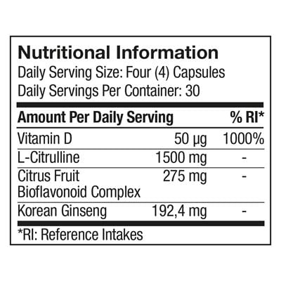 4lifetransform-men-nutritional-information