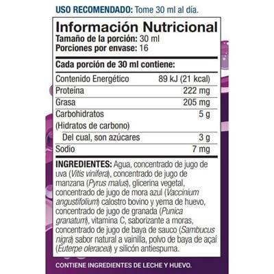 riovida bottella nutritional facts