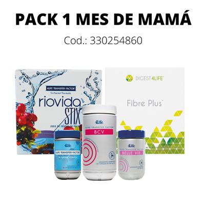 Pack 1 Mes de Mamá
