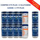 Compre 8 Plus + 2 Glutamine Prime e GANHE + 2 Plus