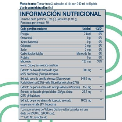 recall nutritional