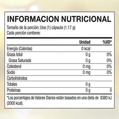 Bieofa nutritional facts