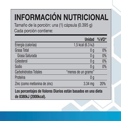 Plus Nutritional Facts