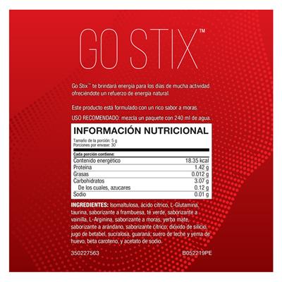 energy go stix three