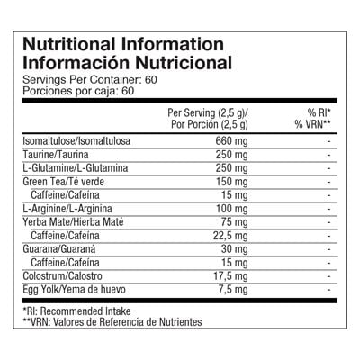 Go-Stix-Berry-Nutritional-information