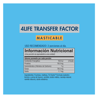transfer factor chewable cuatro