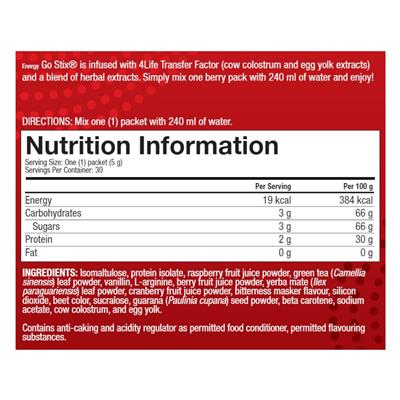 energy berry ingredients