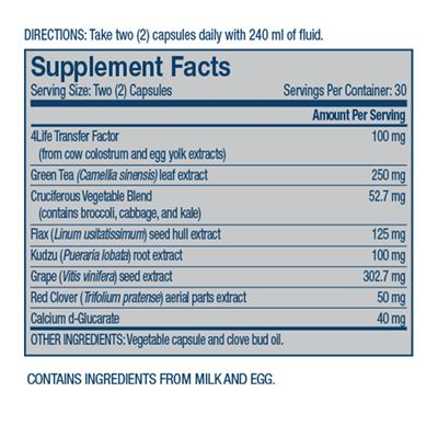 belle vie nutritional facts