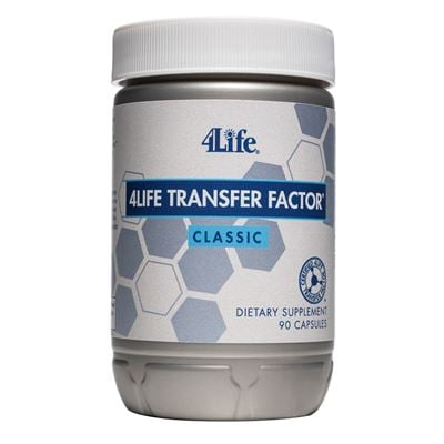 Transfer Factor Classic White Lid