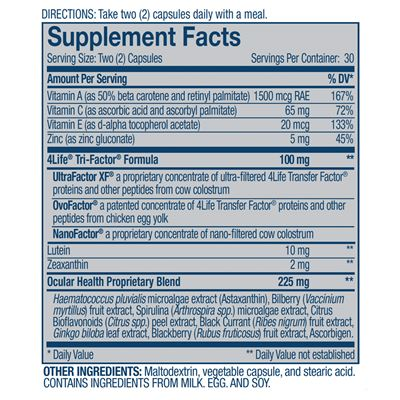 Vista-Supplement-Facts