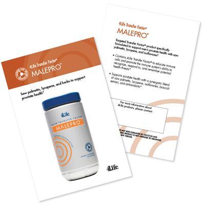 Malepro Marketing Card