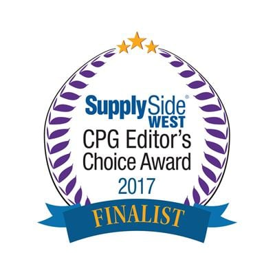 2017 SupplySide West Finalist Logo