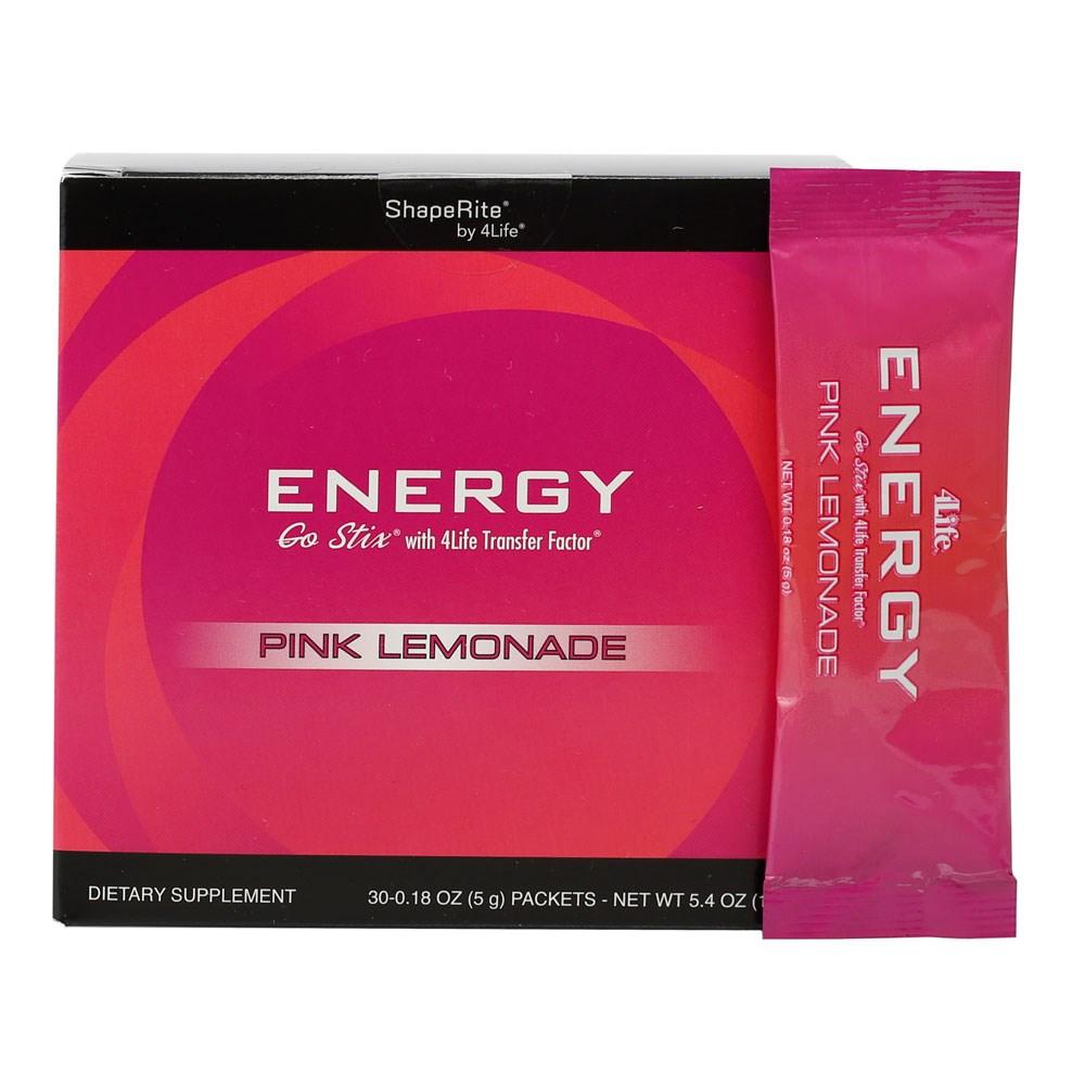 Energy Go Stix Limonada Rosa 4life Estados Unidos