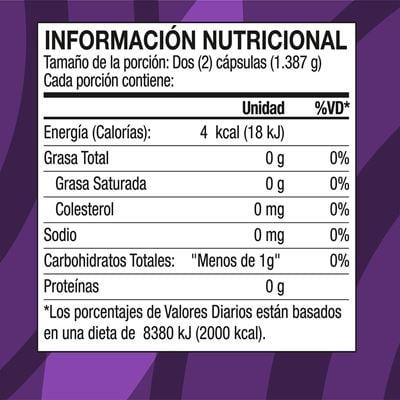 renuvo white cap nutritional